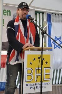 Berlin ein Zeichen - Vertreter der EDL