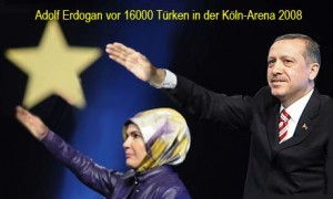 Adolf Erdogan in Köln